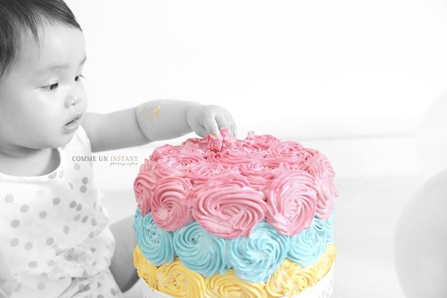 Seance Photo Anniversaire Smash The Cake Leane 1 An